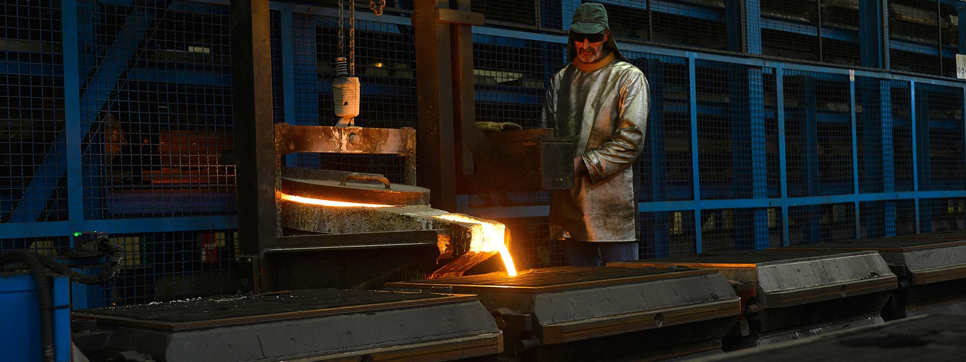 The SIF foundry offers a wide variety of services (raw parts, machined parts, with/without assembly, with/without treatment)